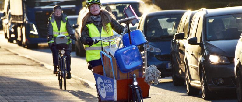 Test für Transportrad-Mietsysteme auch in Leipzig